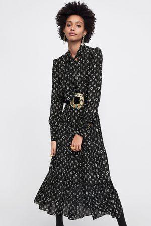 Zara SPADE PRINT DRESS
