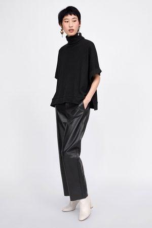 Zara OVERSIZE-T-SHIRT MED STRUKTUR