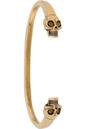 Alexander McQueen Armband med dödskallar