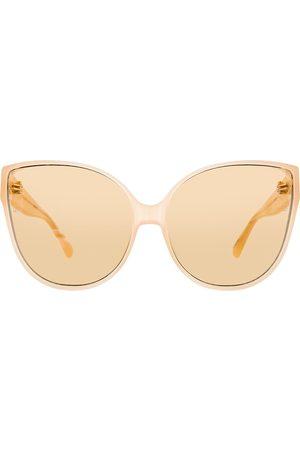 Linda Farrow 656 C4 cat eye-solglasögon