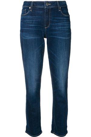 Paige Kvinna Jeans - Beskurna jeans