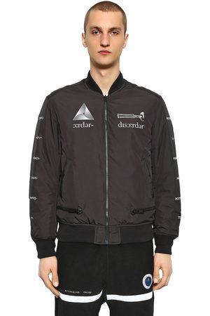 UNDERCOVER Man Bomberjackor - Printed Reversible Nylon Bomber Jacket