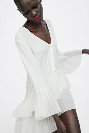 Köp Blusar   Tunikor från Zara för Kvinna Online  b895c1edaf8f2