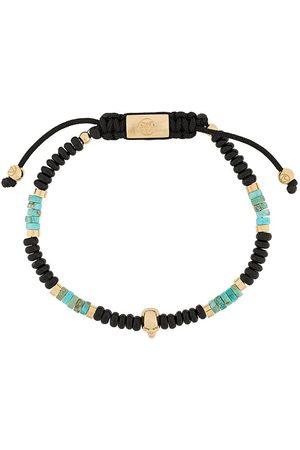 NORTHSKULL Pärlat armband med dödskalle