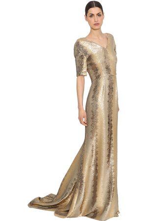 INGIE Kvinna Maxiklänningar - Sequined Tulle Long Dress