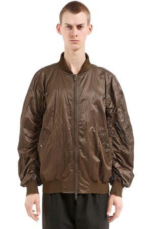 DAMIR DOMA Oversize Zip-up Nylon Bomber Jacket