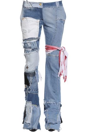 Ronald Van Der Kemp Up Cycled Patchwork Denim Jeans