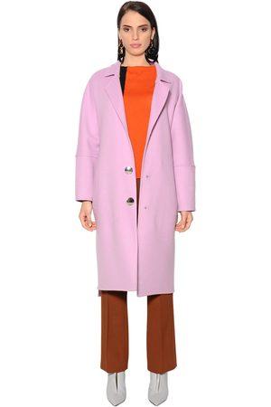 Marni Oversized Wool Blend Coat