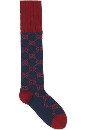 Gucci Man Strumpor & Sockar - Interlocking G cotton socks