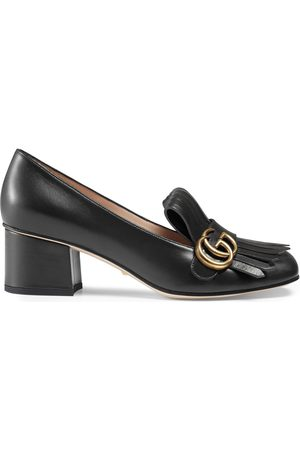 Gucci Kvinna Pumps - Leather mid-heel pump