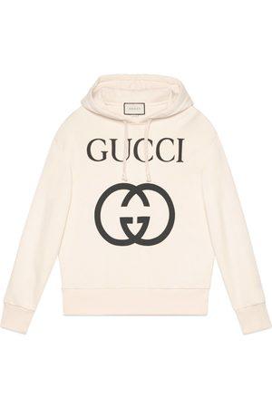 Gucci Man Sweatshirts - Hooded sweatshirt with Interlocking G
