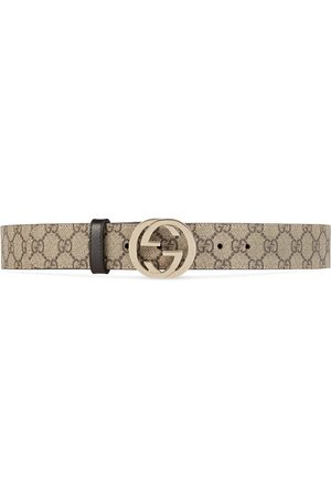 Gucci Kvinna Bälten - GG Supreme belt with G buckle