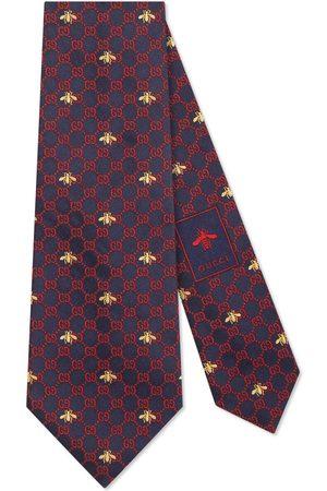 Gucci Slipsar - GG bees silk tie