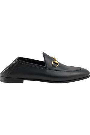 Gucci Kvinna Lågskor & Loafers - Leather Horsebit loafer