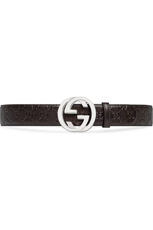 Gucci Man Bälten - Signature leather belt