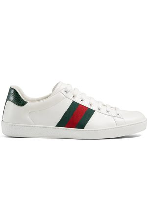 Gucci Man Sneakers - Ace leather sneaker