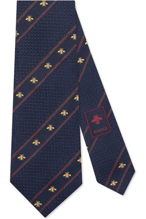 Gucci Bee Web silk tie