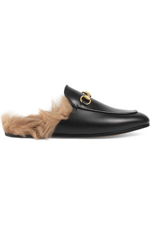 Gucci Kvinna Tofflor - Princetown leather slipper