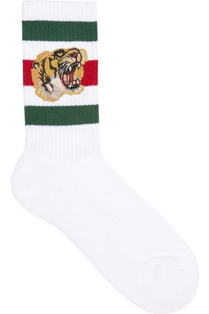 Gucci Man Strumpor & Sockar - Stretch cotton socks with tiger