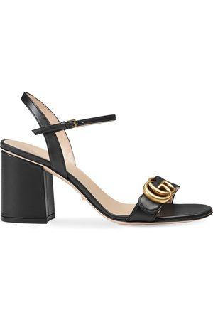 Gucci Kvinna Sandaler - Leather mid-heel sandal