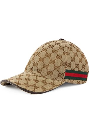 Gucci Man Kepsar - Original GG canvas baseball hat with Web
