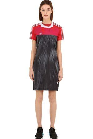 adidas Kvinna Mönstrade klänningar - Printed Tech Mini Dress