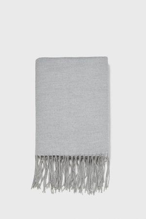 Zara Slät halsduk med fransar