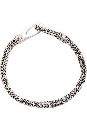 John Hardy Klassiskt silverarmband med hake
