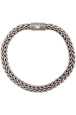 John Hardy Klassiskt platt kedjearmband i silver