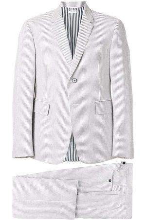 Thom Browne Man Slipsar - Kostym i bäckebölja med slips