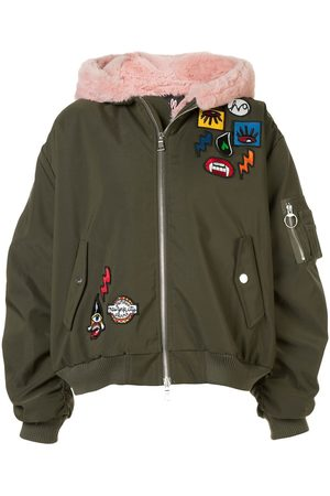 HACULLA Aberrant patch bomber jacket