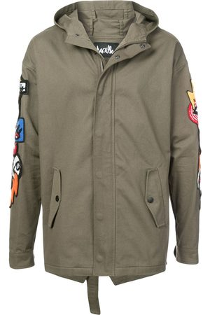 HACULLA Hacmania patch hooded coat