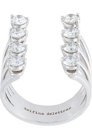 DELFINA DELETTREZ Dots' diamond ring