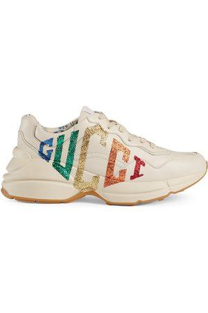 Gucci Rhyton glittriga sneakers