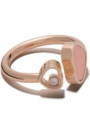 Chopard Happy Hearts diamantring i 18K roséguld