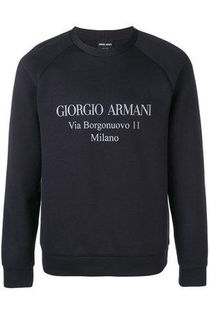 Armani Sweatshirt med logotyp