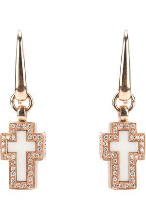 Gavello Korsformade diamantörhängen