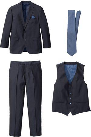 bonprix Kostym i 4 delar: Kavaj, byxa, väst och slips