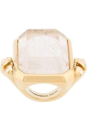 Goossens Ring med stor kristall
