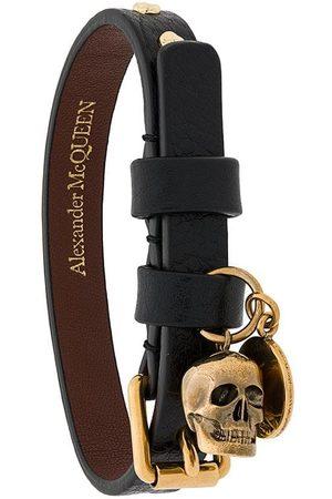 Alexander McQueen Armband i skärp-design