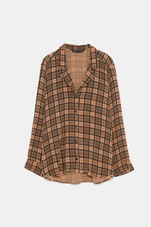 Zara in kvinna blusar   tunikor 31c60778d3339