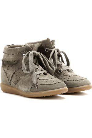 Isabel Marant Bobby suede wedge sneakers
