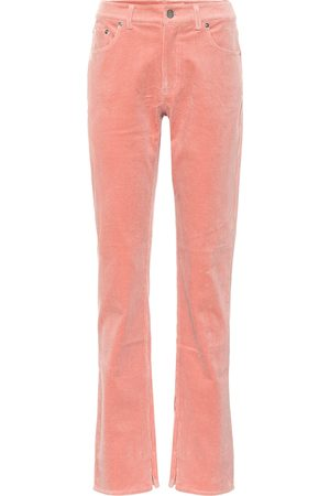 Ganni Stretch corduroy straight pants