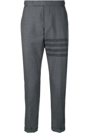 Thom Browne Man Slim - Byxor med smal passform och ränder
