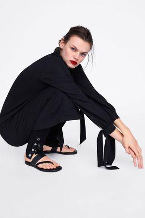 Zara Leggings med tryckknappar