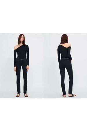 Zara Jeans z1975 med raka ben och skärp