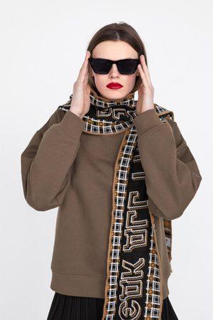 Zara Sweatshirt med halsduk