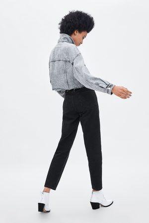 "Zara Jeans mom fit ""authentic denim"""