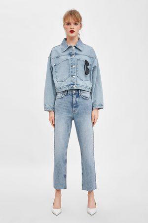Zara Jeans hi rise straight