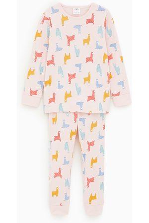 Zara Pyjamas med lamor